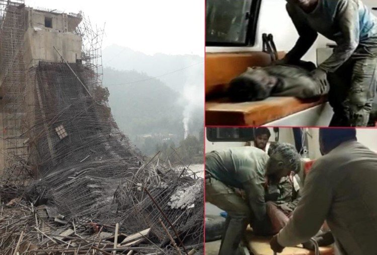 Badrinath Highway Bridge Collapse Latest News: Labourer Done Bridge Construction Without Helmet and Security Belt