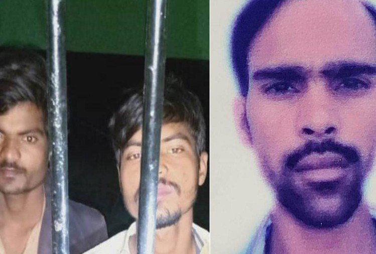 आरोपी भाई गोलू व गुड्डू रावत, मृतक मुश्ताक (फाइल फोटो)