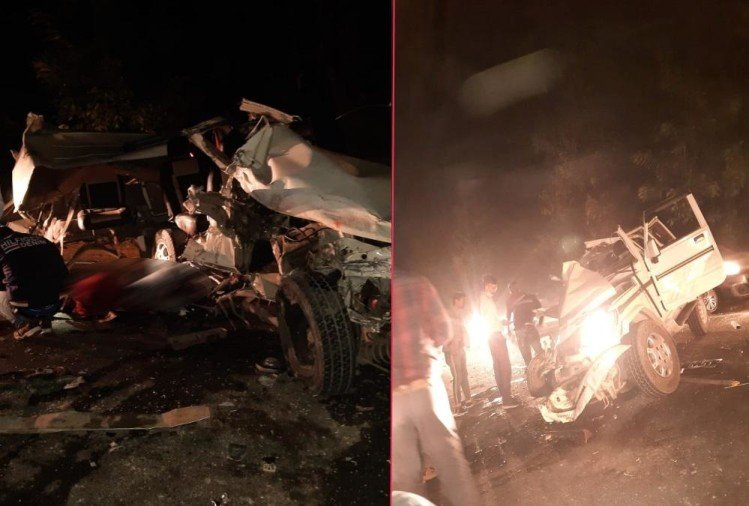 Uttarakhand Latest News: Bus and Bolero collision on haldwani Road, Youth Died, Photos