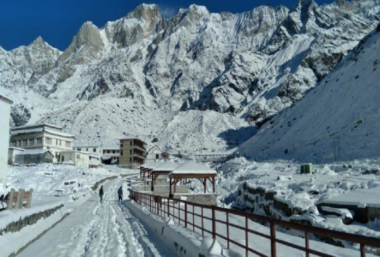 Uttarakhand Weather Latest News: Fresh Snowfall In Hilly Areas, Snow Covered Kedarnath Awesome Visuals