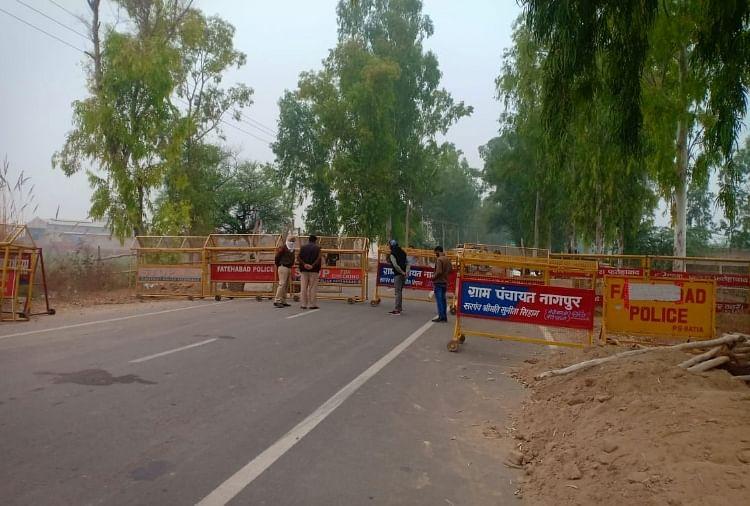 Farmers March: Haryana Borders With Punjab To Remain Sealed On Nov 26, 27 -  दिल्ली कूच की तैयारी में पंजाब के दो लाख किसान, हरियाणा ने सभी सीमाएं सील  की, भारी पुलिसबल