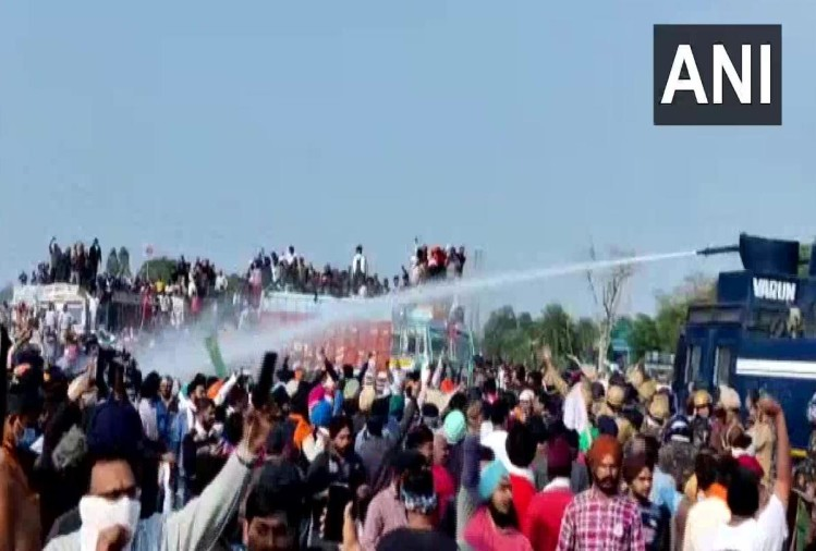 punjab farmers protest delhi chalo kisan march live updates news in hindi farm bills 2020 farmers at haryana border moving towards delhi border security tightened metro service drone