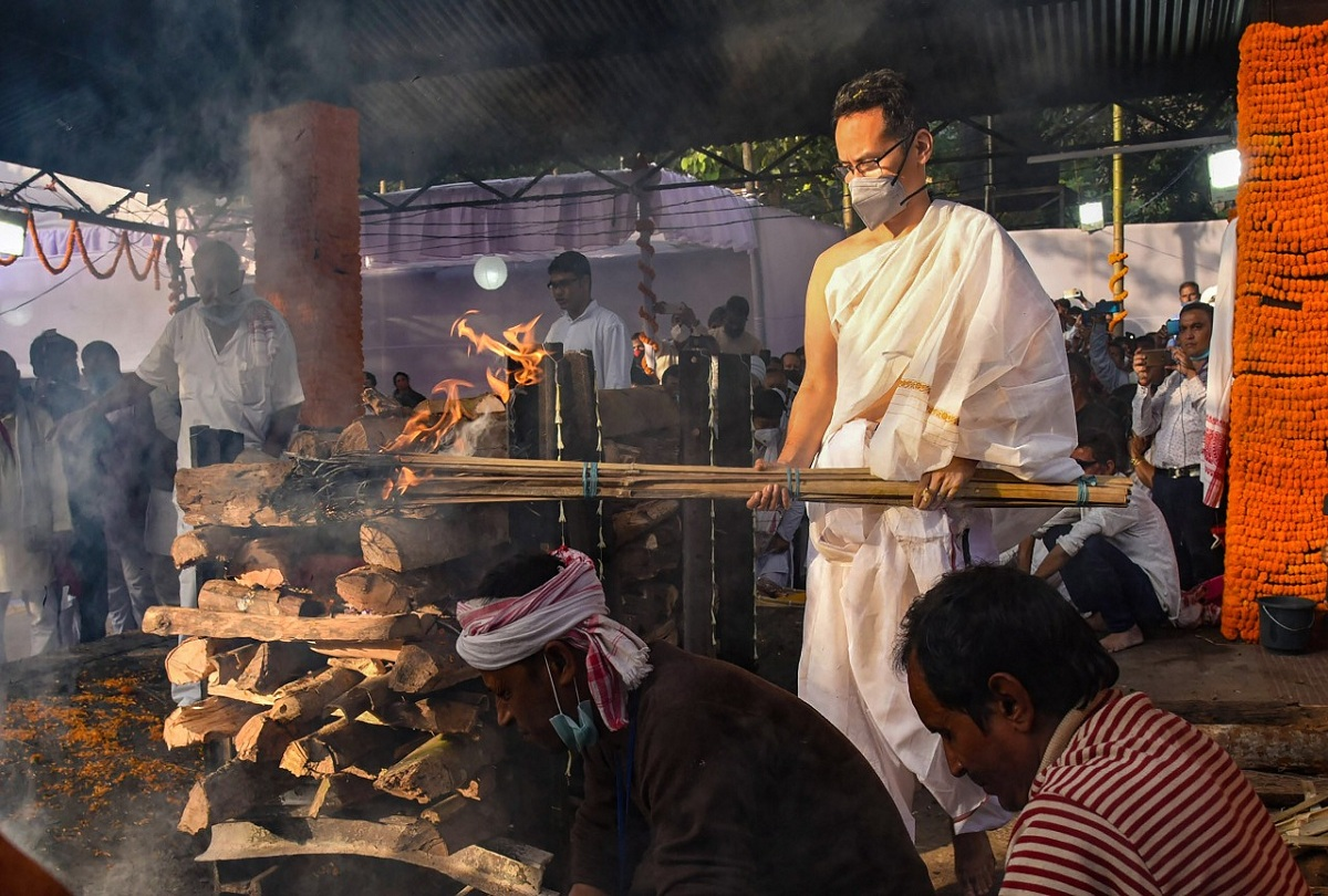 Funeral of Tarun Gogoi
