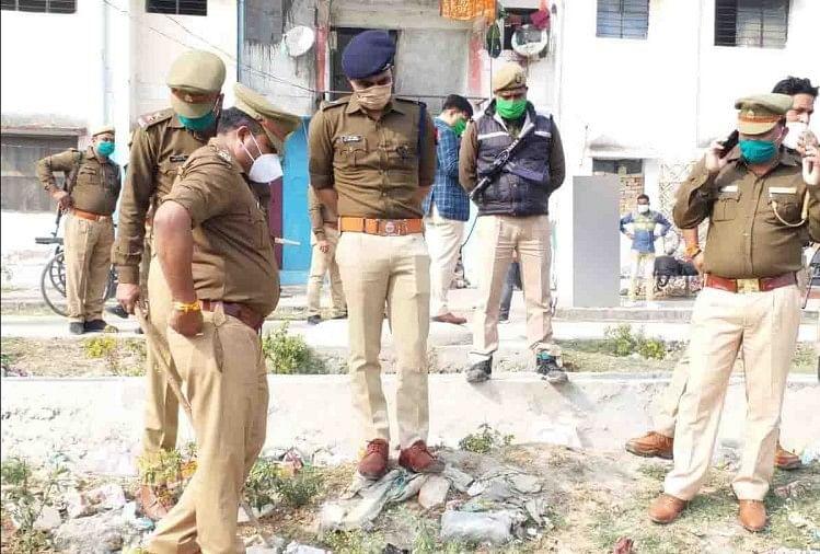 कानपुर: काशीराम कॉलोनी में मिले चार नरमुंड, सिंदूर और चूड़ी पड़ी थी पास, पुलिस ने शुरू की जांच