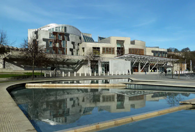 स्कॉटलैंड का संसद भवन