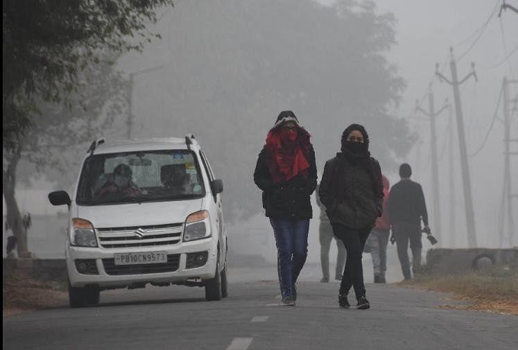 Punjab Weather Update: Cold Breaks 25-year Record In Ludhiana - लुधियाना  में ठंड ने तोड़ा 25 साल का रिकॉर्ड, गेहूं को फायदा, आलू पर पड़ेगी कोहरे की  मार - Amar Ujala Hindi News Live