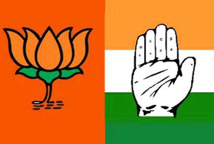 भाजपा और कांग्रेस उपचुनाव के लिए एक्शन मोड में