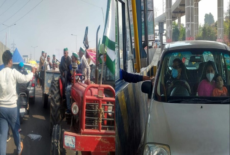 किसान आंदोलन: दिल्ली-जयपुर हाइवे पूरी तरह बंद, संयुक्त किसान मोर्चा की अहम बैठक आज