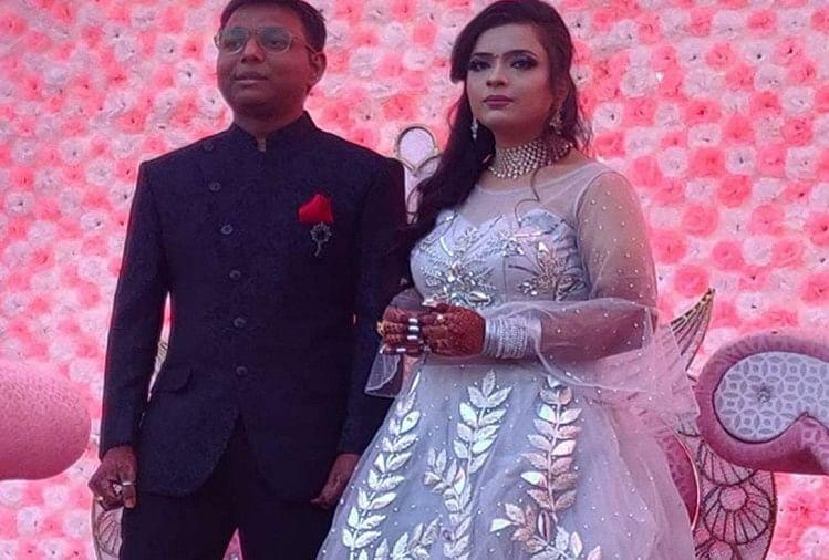 Arju's file photo with husband