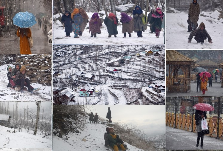 Snowfall captures the beauty of 'Jannat', see these pictures which entice the mind