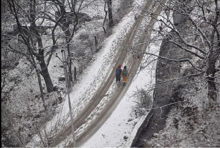 Snowfall in Jammu and Kashmir