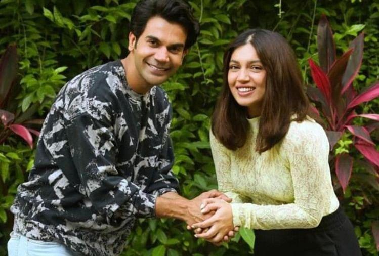 Actress Bhumi Pednekar And Rajkumar Rao Upcoming Movie Shooting Starts In  Dehradun - देहरादून: शुरू हुई शूटिंग, हल्की बारिश के बीच भूमि पेडनेकर और राजुकमार  राव ने फिल्माए कई सीन ...