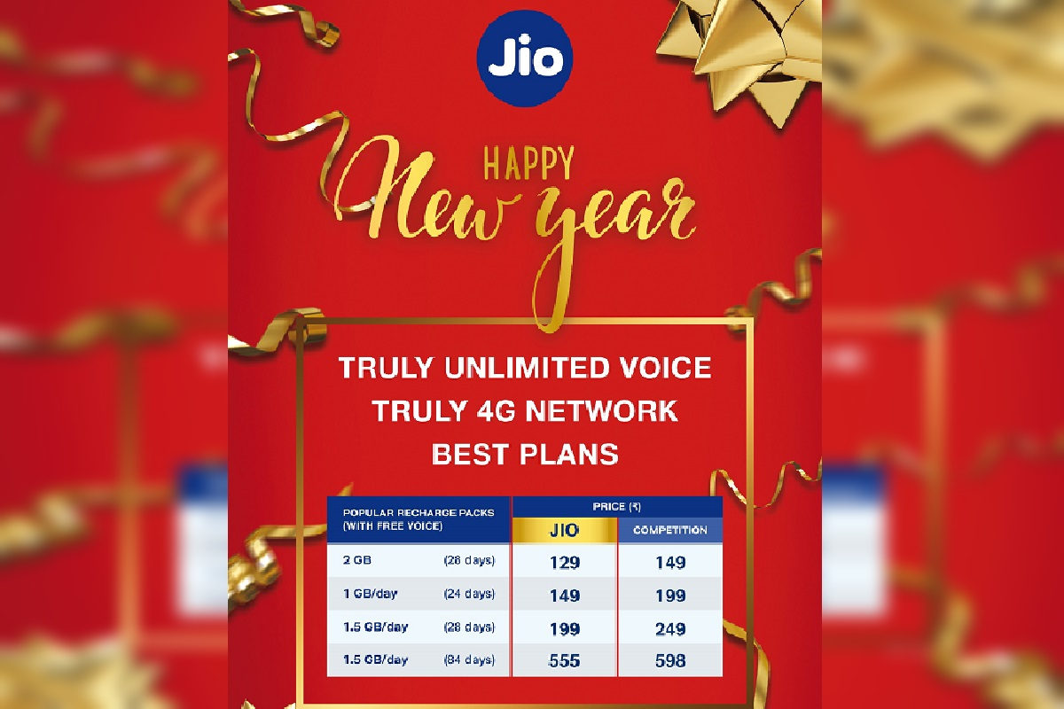 Jio Happy New Year Offer 2021