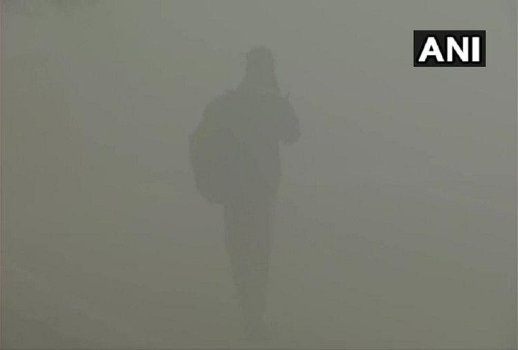 Shadow Fog in Delhi