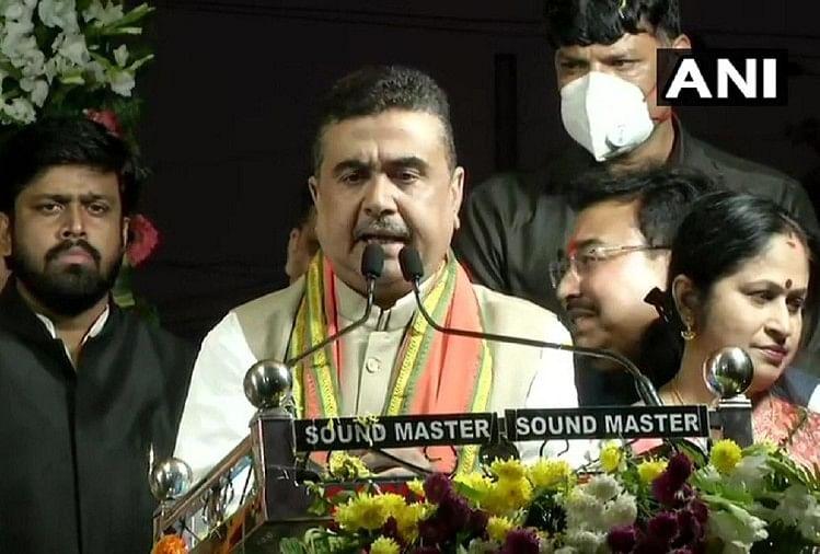 बंगाल : रैली में गरजे सुवेंदु अधिकारी, बोले- चुनाव में ममता को हराऊंगा, नहीं तो राजनीति छोड़ दूंगा