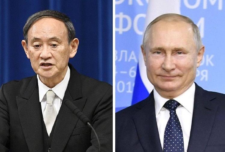 Suga and Putin