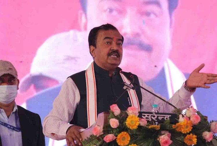 यूपी के बांदा में डिप्टी सीएम केशव मौर्य बोले, बुंदेलखंड में गरीबी के खिलाफ जंग, सरकार ने खो दिया खजाना