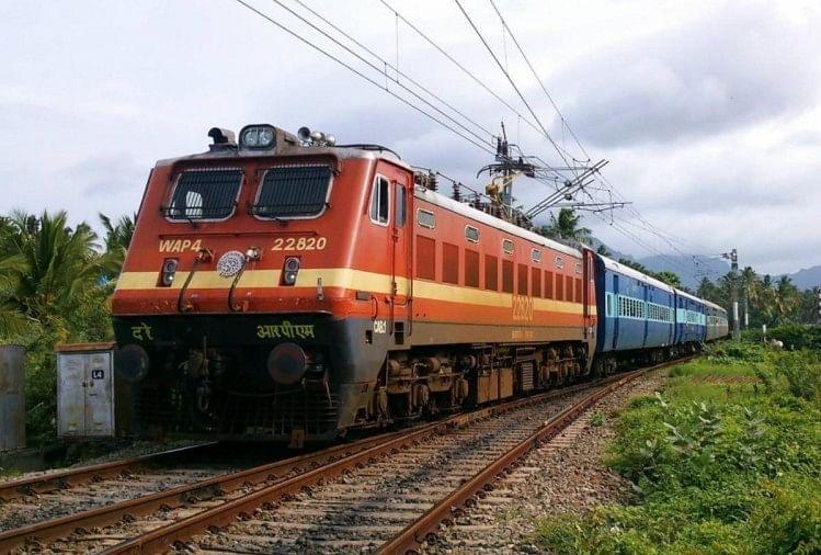 ट्रेन में डकैती, 20 यात्रियों से लूटपाट, एक लुटेरा काबू