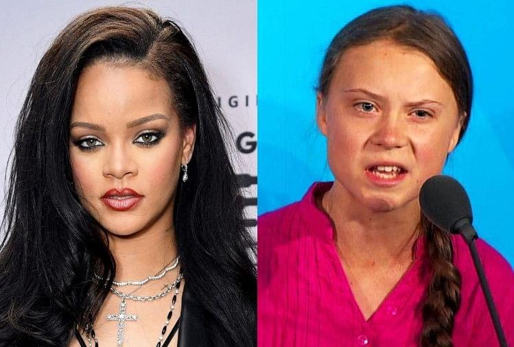 Rihanna Support Farmers Protest In India Rihanna To Greta Thunberg  International Attention - Rihanna: किसान आंदोलन में विदेशी सितारों का दखल,  रिहाना से लेकर ग्रेटा थनबर्ग तक ने किया ...