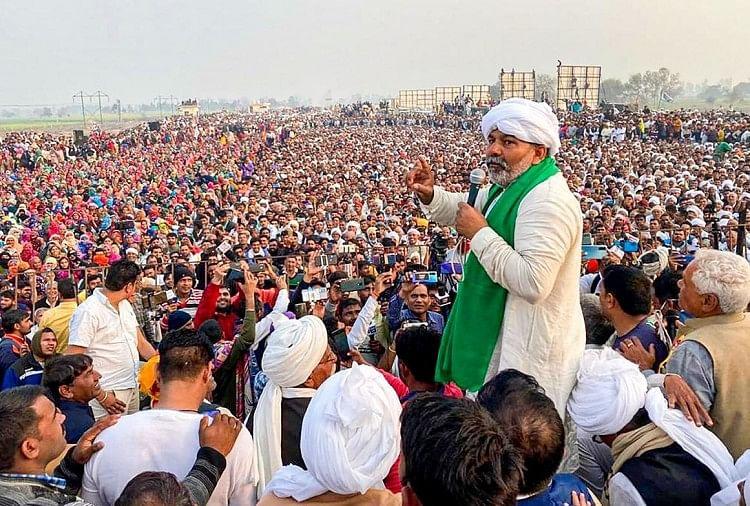 Kisan Andolan Farmers Protest Today Live Updates In Hindi - Kisan Andolan: केंद्रीय मंत्री वीके सिंह का राकेश टिकैत को लेकर बड़ा बयान- पंजाब के संगठनों के दबाव में जारी है ...