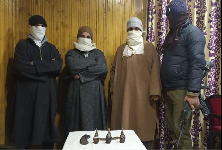 Jammu and Kashmir: Three LeT operatives arrested in Bandipora, Jaish arrested in Delhi