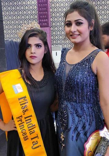 बांदा की बेटी के सिर में भारत प्रिसेंज का ताज