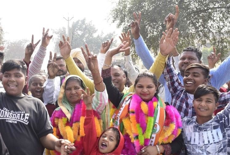 पंजाब निकाय चुनाव : सातों निगमों में कांग्रेस की जीत, अकाली दल व भाजपा का प्रदर्शन निराशाजनक