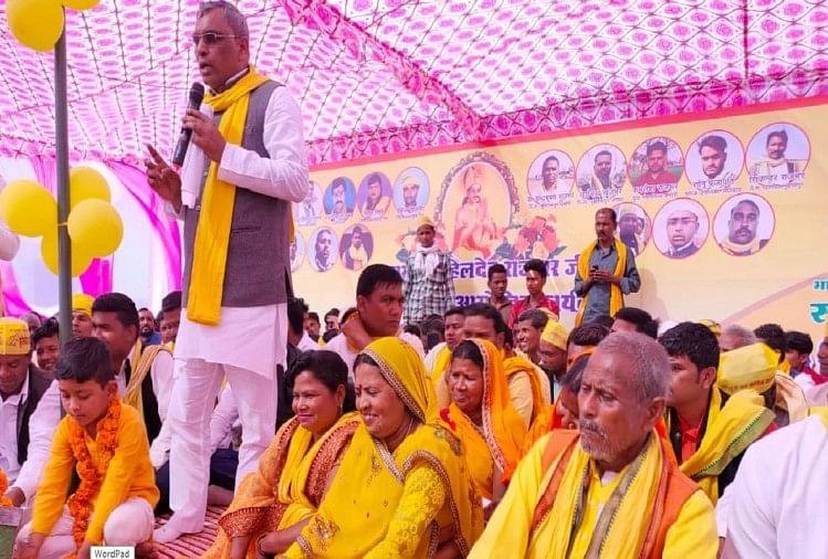 सुभासपा अध्यक्ष ओमप्रकाश ने भाजपा पर साधा निशाना, बोले- सुहेलदेव के नाम पर वोट पाने का एक प्रयास