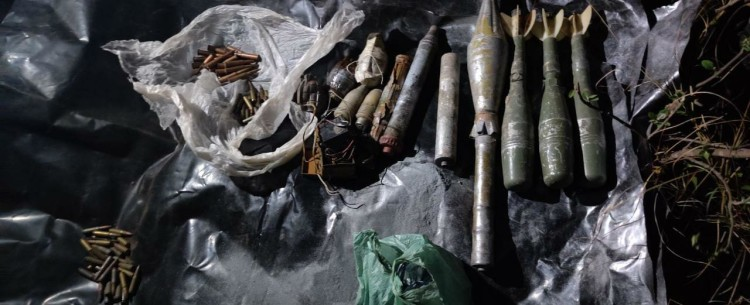 One arrested with explosives in Mahore