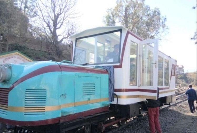हैरिटेज रेलवे ट्रैक कालका-शिमला पर लग्जरी रेल मोटरकार चलाने की योजना