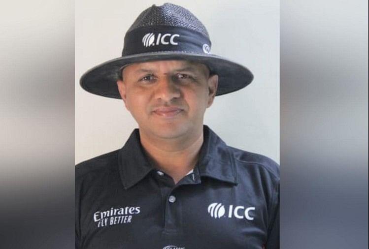 अंपायर वीरेंद्र का देश में डंका, वर्ल्ड टेस्ट चैंपियनशिप की रिव्यू सफलता दर में देश में पाया पहला स्थान