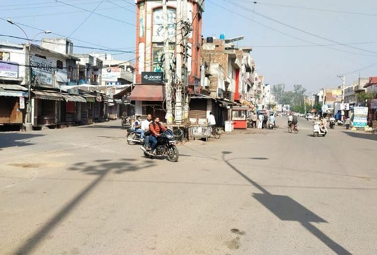 पंजाब में भारत बंद का पूर्ण असर : समर्थन में आए आम लोग, 80 फीसदी बाजार बंद, बसों के पहिए थमे
