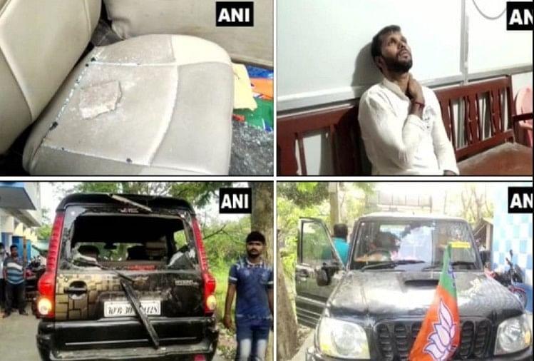 बंगाल Live : पूर्व क्रिकेटर और भाजपा के उम्मीदवार अशोक डिंडा पर हमला, कार में की गई तोड़फोड़