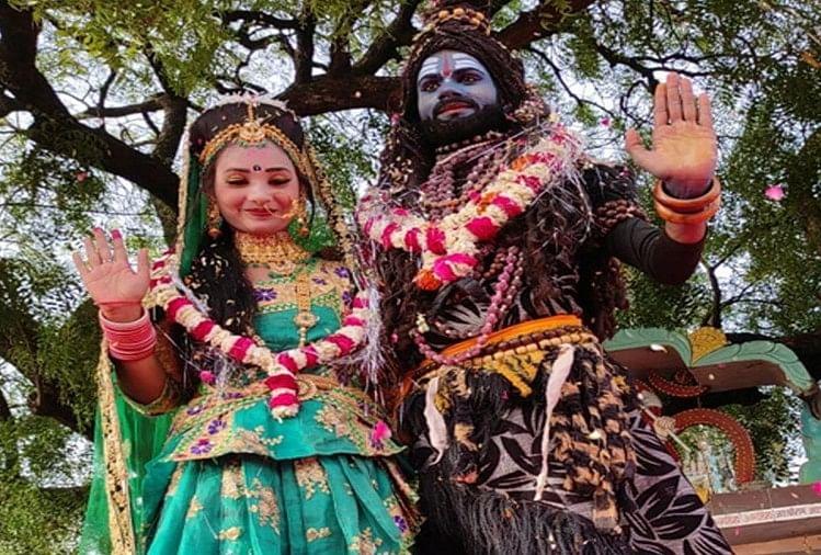 कानपुर देहात में अनोखी शादी