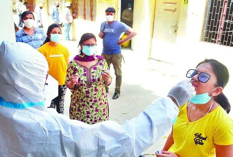 56 Corona Positive Patients Found In Jhansi On Wednesday - झांसी में कोरोना  का सबसे बड़ा हमला : बुधवार को मिले 56 मरीज, जिले में कुल संक्रमितों की  संख्या हुई 227 - Amar Ujala ...