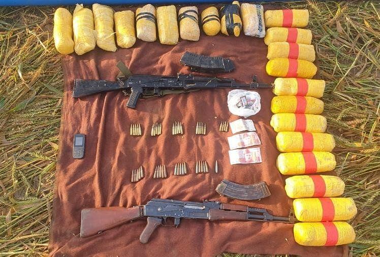 पंजाब में बीएसएफ की बड़ी कार्रवाई : दो पाकिस्तानी घुसपैठियों को किया ढेर, दो एके- 47 व 22 किलो हेरोइन बरामद