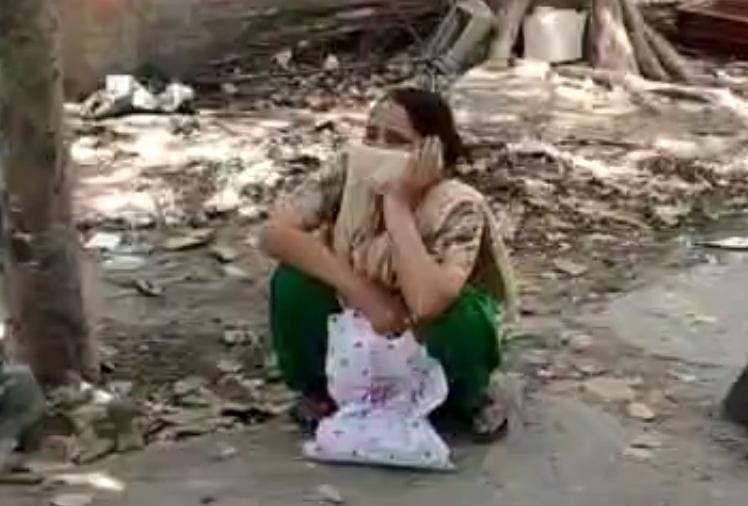 Jalandhar hospital woman husband