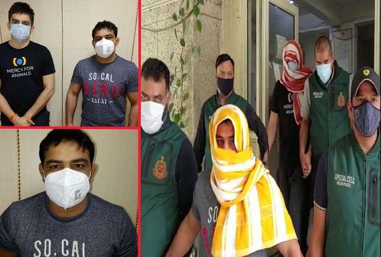 Wrestler Sushil Kumar Arrested Photos After The Arrest Of Sushil Pahalwan  Wrestler Sagar Dhankhar Murder Case - सागर हत्याकांड: 18 दिन बाद सुशील  पहलवान गिरफ्तार, हिरासत में भी नजर नहीं आया खौफ,