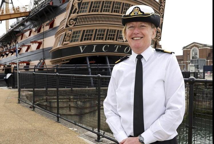Jude Terry Will Be First Woman Rear Admiral Of British Royal Navy In Hindi  - ज्यूड टेरी होंगी ब्रिटिश रॉयल नेवी की प्रथम महिला रियर एडमिरल, 500 साल  बाद बदल रहा इतिहास -