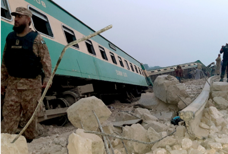 Pakistan train accident Today: 30 people were killed after Sir Syed Express train collided with a Millat Express in Ghotki in Pakistan.