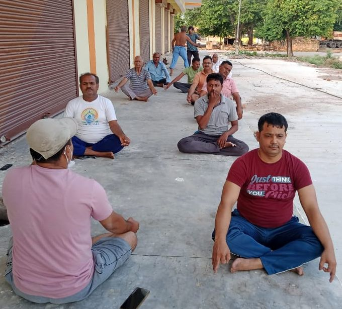 Do yoga daily, the body will be healthy