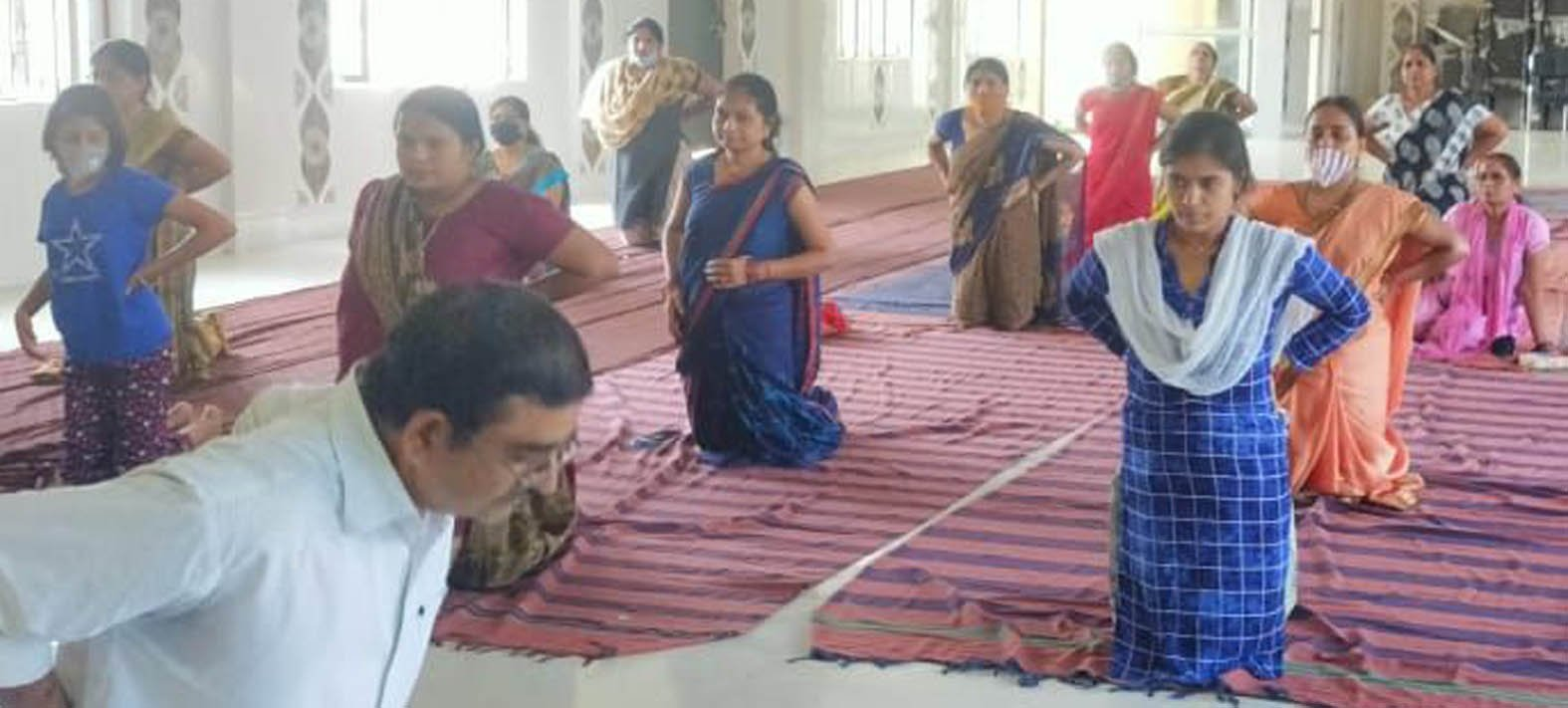 International Yoga Day was celebrated all over