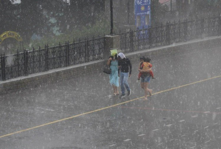 अलर्ट : तीन दिन भारी बारिश, 11 जुलाई तक मौसम रहेगा खराब