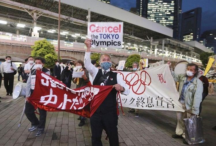 Large Anti-olympic Public Demonstration Could Be Organised, Tokyo Police  Has Been Asked To Be Very Vigilant - ओलंपिक्स का विरोध: विशेषज्ञों ने  चेताया, खेल रोकने के लिए तोक्यो में हो सकते हैं