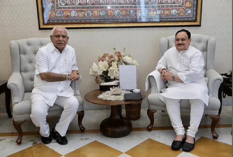 25 July May Be B S Yeddyurappa Last Day As Chief Minister Of Karnataka -  कर्नाटक: येदियुरप्पा आज दे सकते हैं इस्तीफा, उत्तराधिकारी की रेस में प्रह्लाद  जोशी, निरानी का नाम -