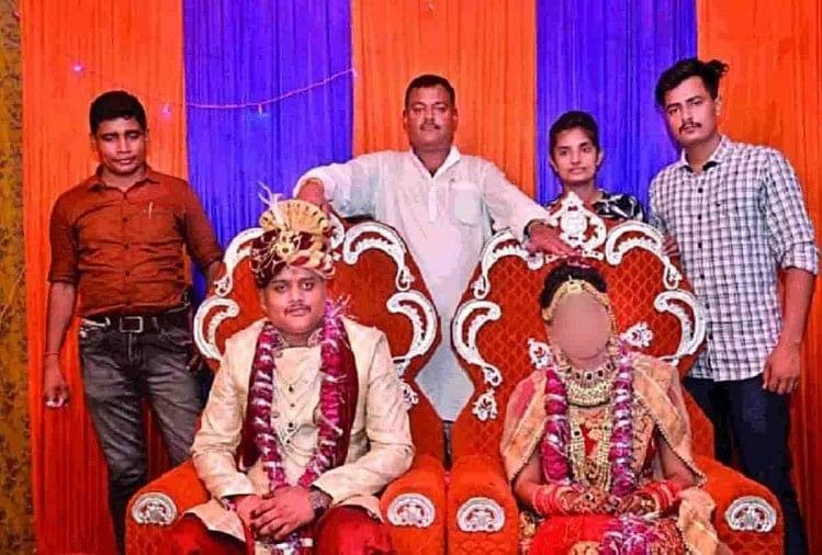 अमर और खुशी दुबे की शादी में विकास दुबे, Bikru