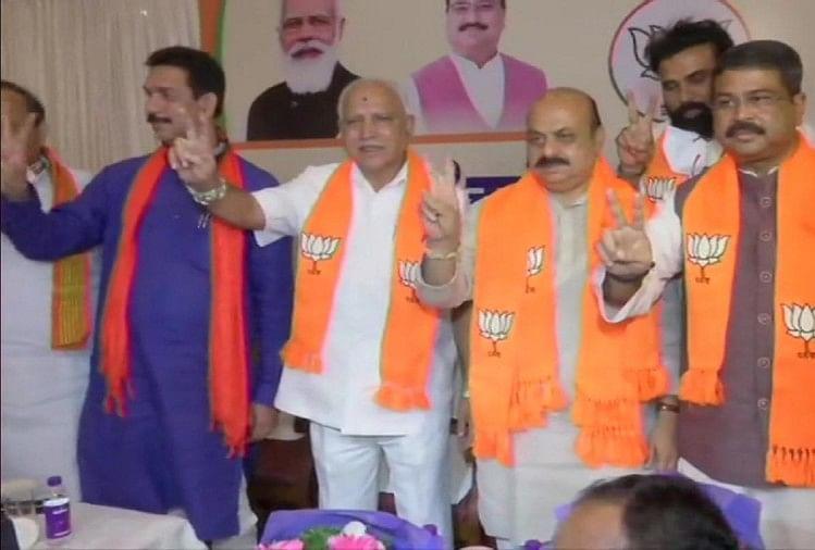 कर्नाटक: बसवराज बोम्मई होंगे नए मुख्यमंत्री, केंद्रीय मंत्री प्रधान ने किया एलान, बुधवार को लेंगे शपथ
