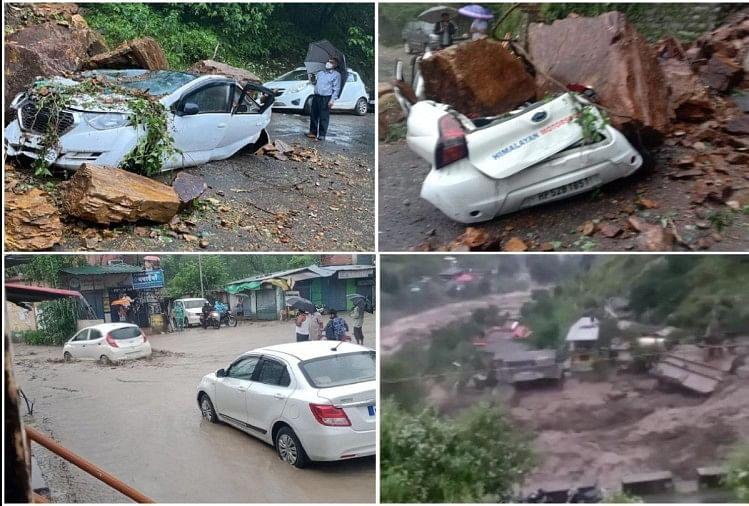 कुल्लू हिमाचल प्रदेश में आई बाढ़