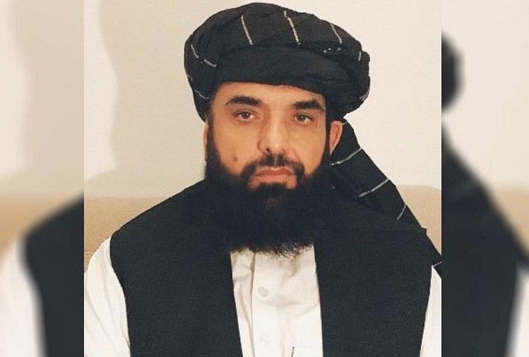 Taliban Spokesman Zabiullah Mujahid Says Pakistan Is Our Second Home -  'मौसेरे भाई': तालिबान ने पाकिस्तान को बताया अपना दूसरा घर, कहा- अब  अफगानिस्तान में शांति - Amar Ujala Hindi News ...