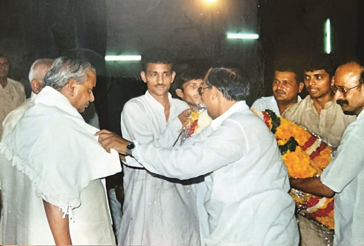 Prayagraj News :  पूर्व मुख्यमंत्री कल्याण सिंह के प्रयागराज आगमन की फाइल फोटो।